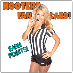 hooters fan points